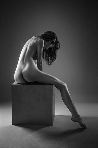 the cube artistic nude photo by photographer gabi gogiu