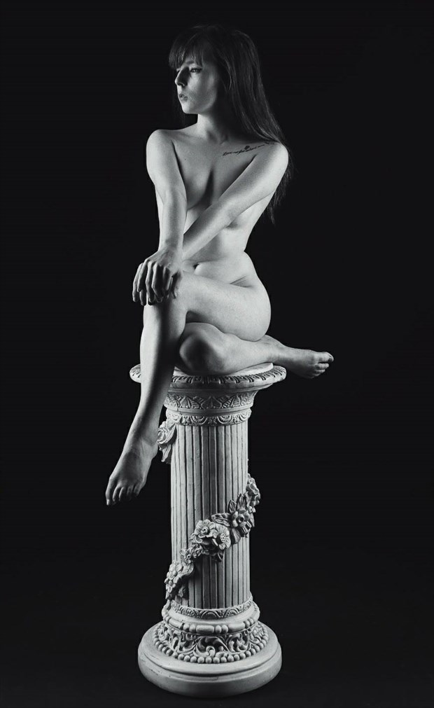 the curves of a female body Artistic Nude Photo by Model TheaRosee