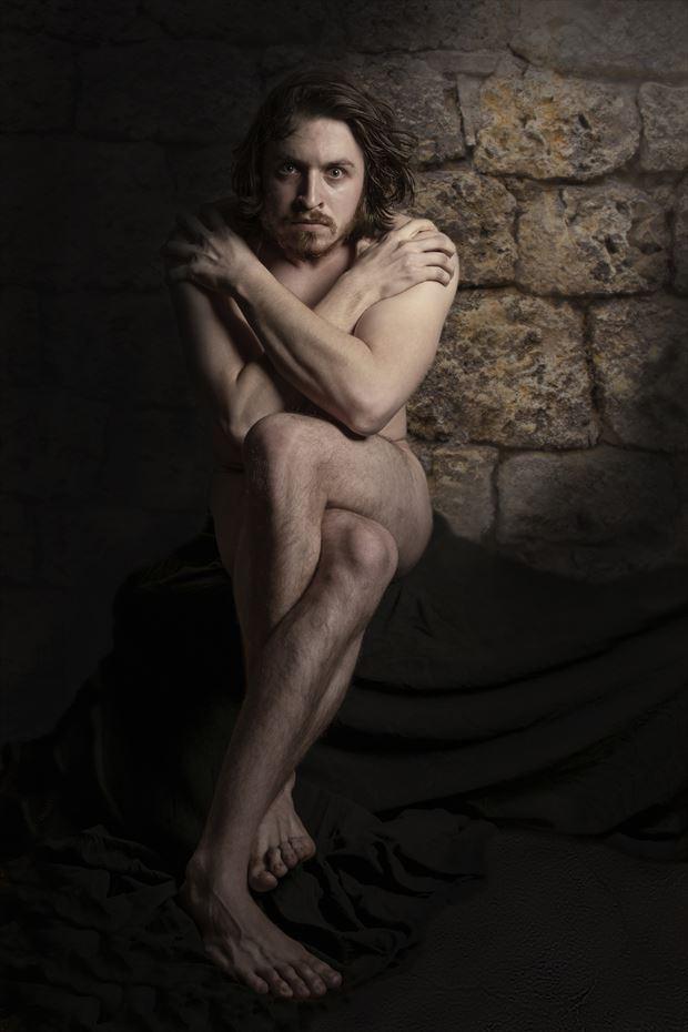 the demoniac artistic nude artwork by artist hruby