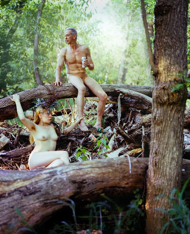 the destruction of mother nature artistic nude photo by artist artfitnessmodel