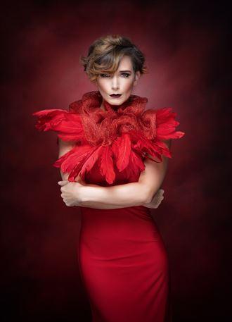 the devil wears red studio lighting photo by photographer strain967