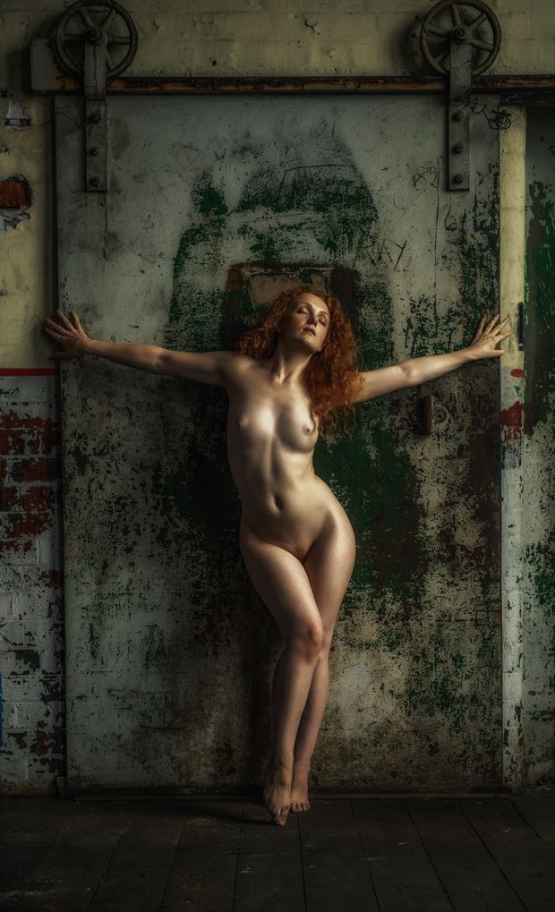 the door artistic nude photo by photographer neilh