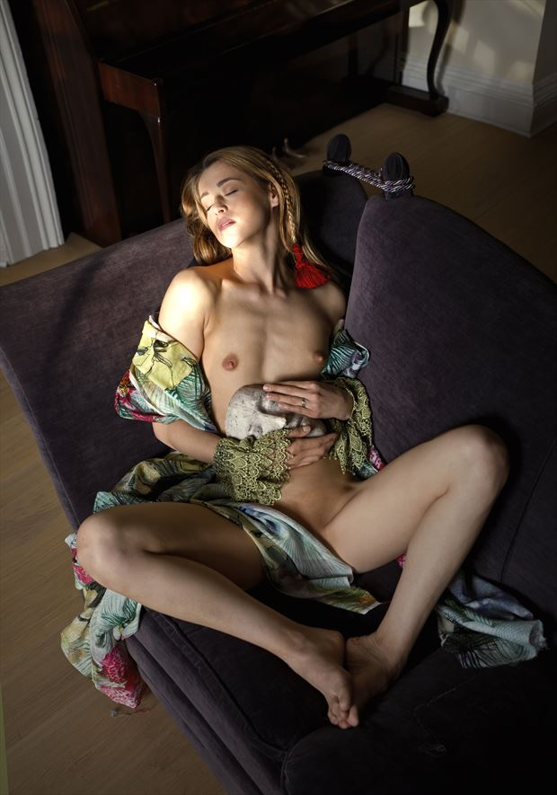 the dying light artistic nude photo by photographer douglas ross