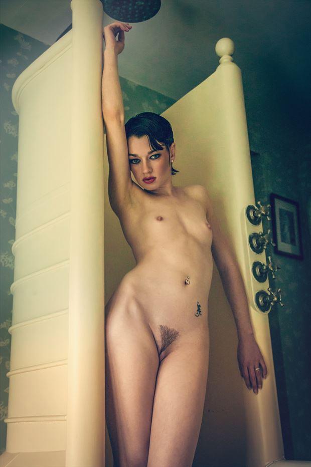the edwardian shower artistic nude photo by photographer maxoperandi
