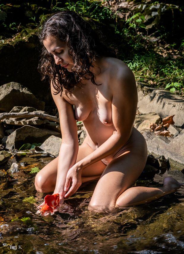 the enchantress artistic nude photo by artist artfitnessmodel