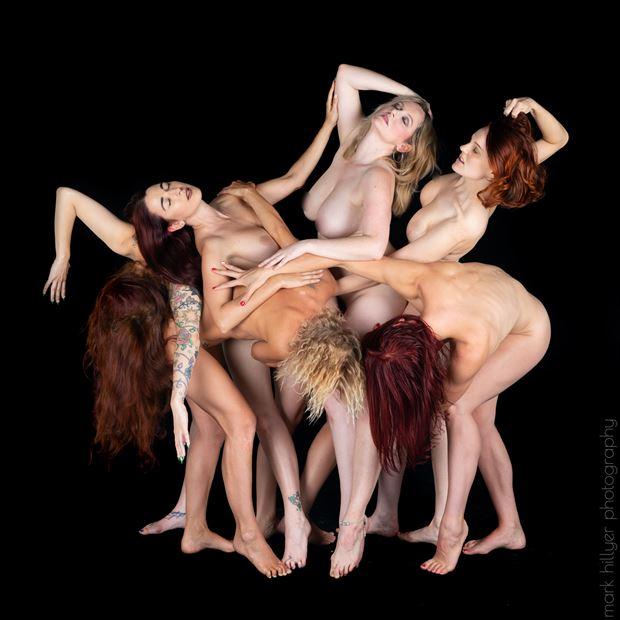 the fallen falling artistic nude photo by model kelly_kooper