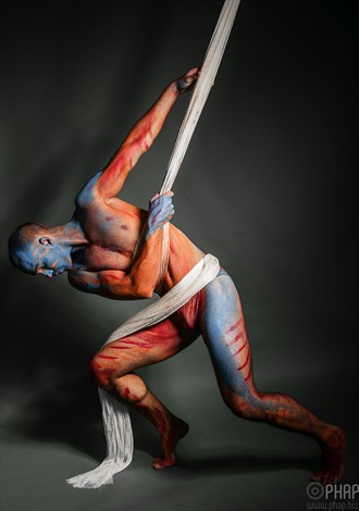 the fish  Artistic Nude Artwork by Photographer Studio Phap