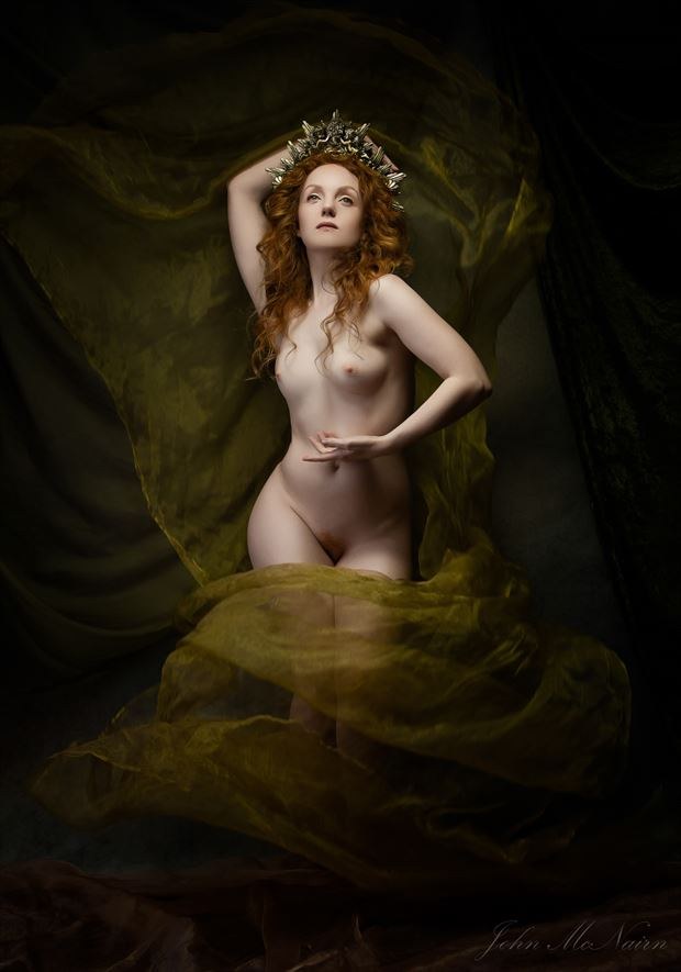 the forest mother artistic nude photo by photographer john mcnairn