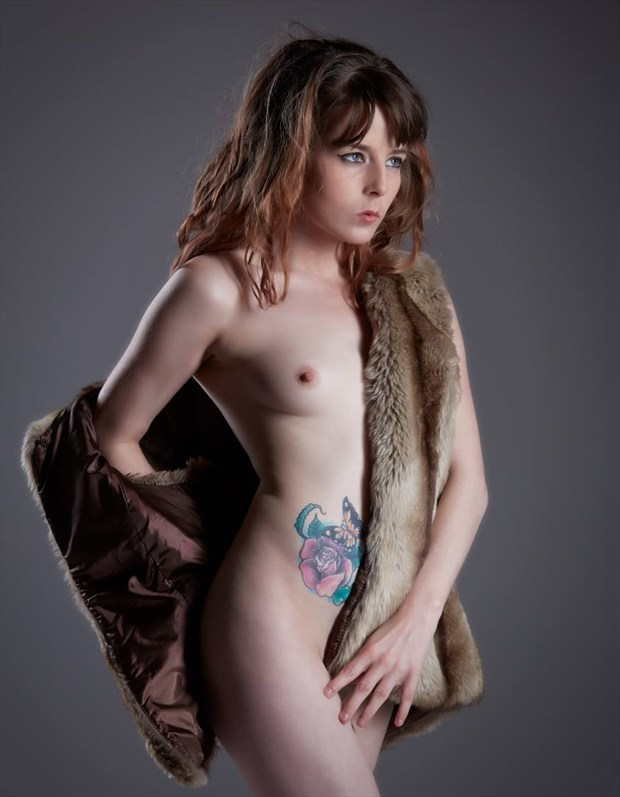 the fur coat Tattoos Photo by Model TheaRosee