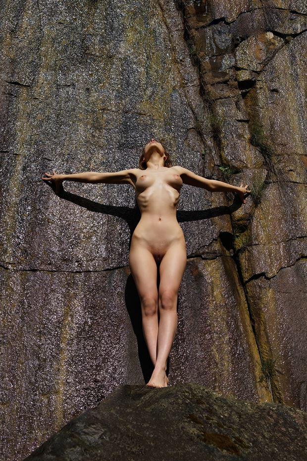 the goddess artistic nude artwork by artist kuti zolt%C3%A1n hermann