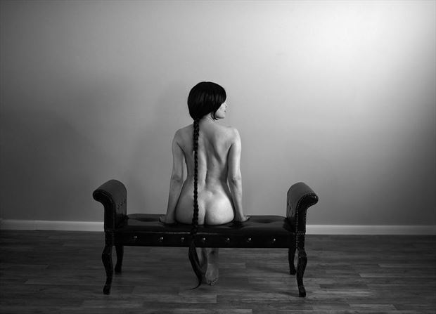 the goodbye artistic nude photo by model vox model