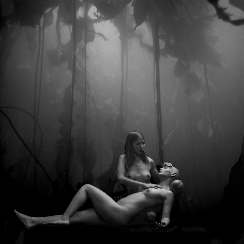 the healer couples photo by artist jean jacques andre