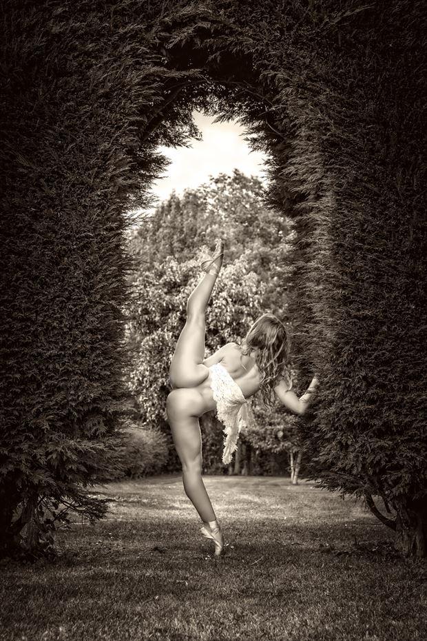the hedge artistic nude photo by photographer maxoperandi