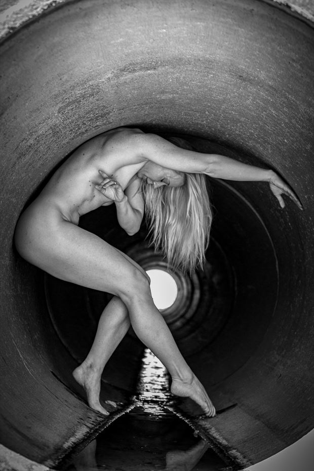 the hole artistic nude photo by artist april alston mckay
