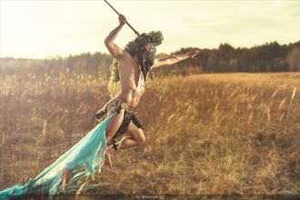 the hunter artistic nude photo by model _model_art__