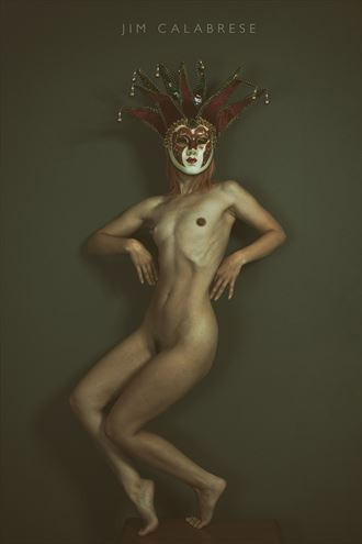 the jester artistic nude photo by model aferlysunflower