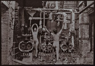 the job in a factory I always wanted  Surreal Photo by Model Naked Freedom