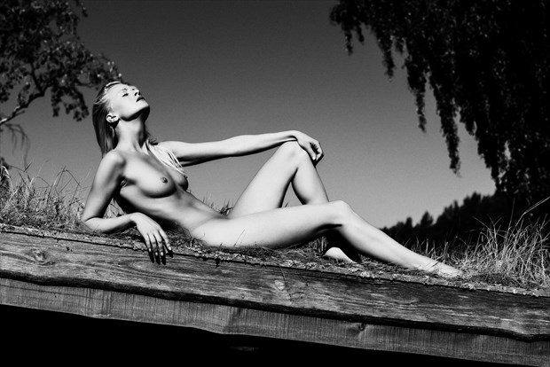 the king Artistic Nude Artwork by Model Anna Johansson