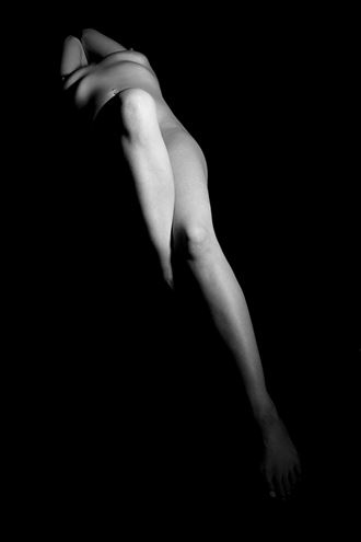 the lady artistic nude photo by photographer harvey potts photography