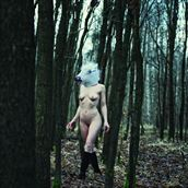 the last unicorn artistic nude photo by photographer thomas illhardt