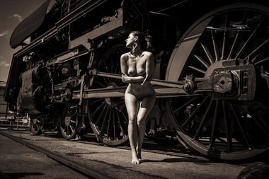 the locomotive Artistic Nude Photo by Photographer sk.photo