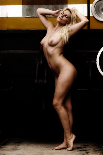 the locomotive artistic nude photo by photographer sk photo