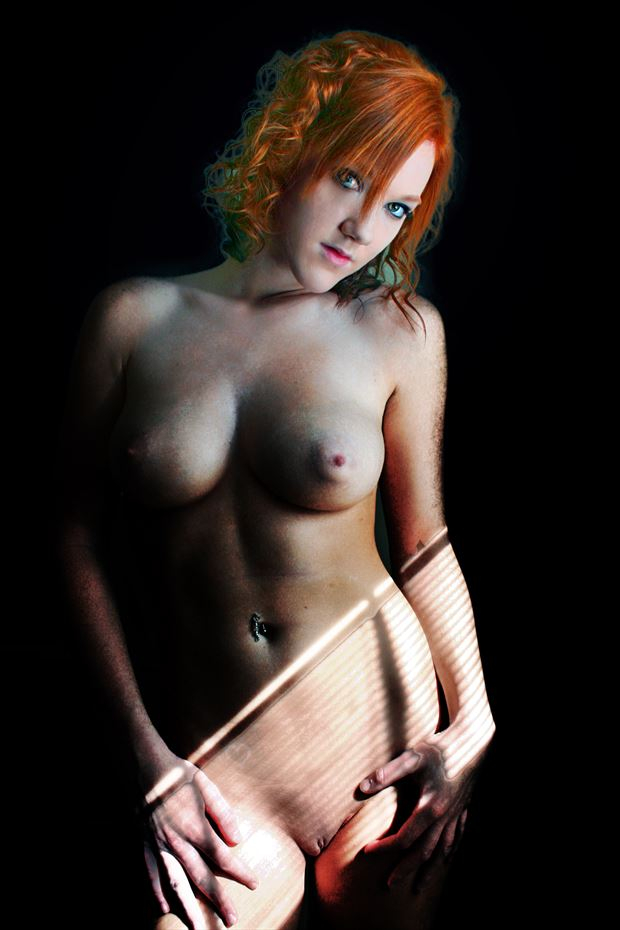 the look artistic nude photo by photographer robert l person