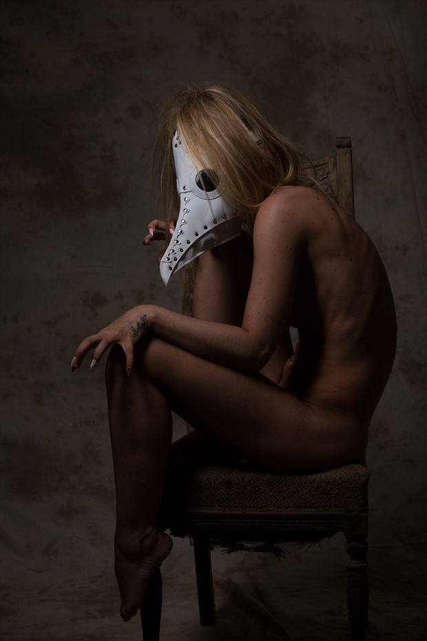 the mistress of the plague artistic nude photo by photographer justinharrisphoto
