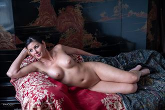 the muse artistic nude artwork by photographer ralf wiegand