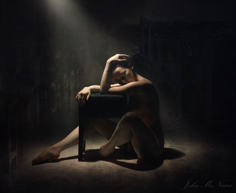 the necromistress studio lighting photo by photographer john mcnairn
