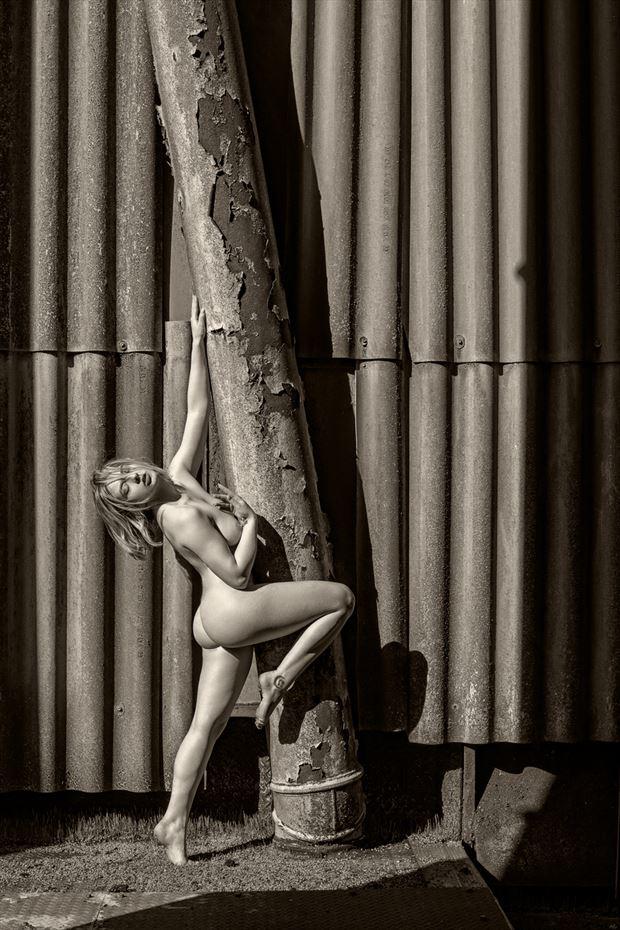the old grain silo artistic nude photo by photographer maxoperandi