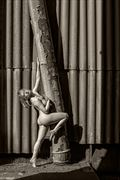 the old grain silo artistic nude photo by photographer maxoperandi