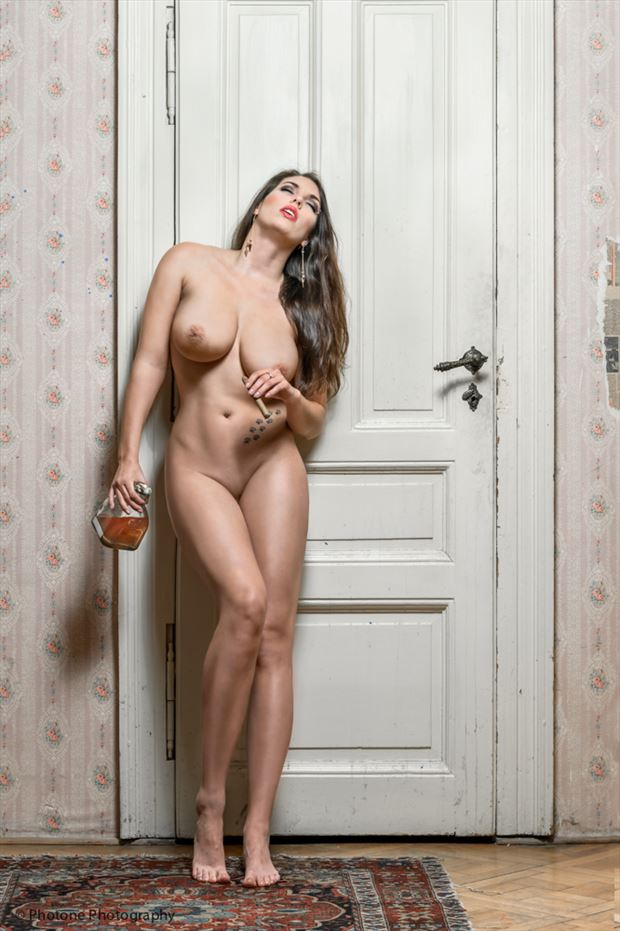 the patron of prague artistic nude photo by photographer o j