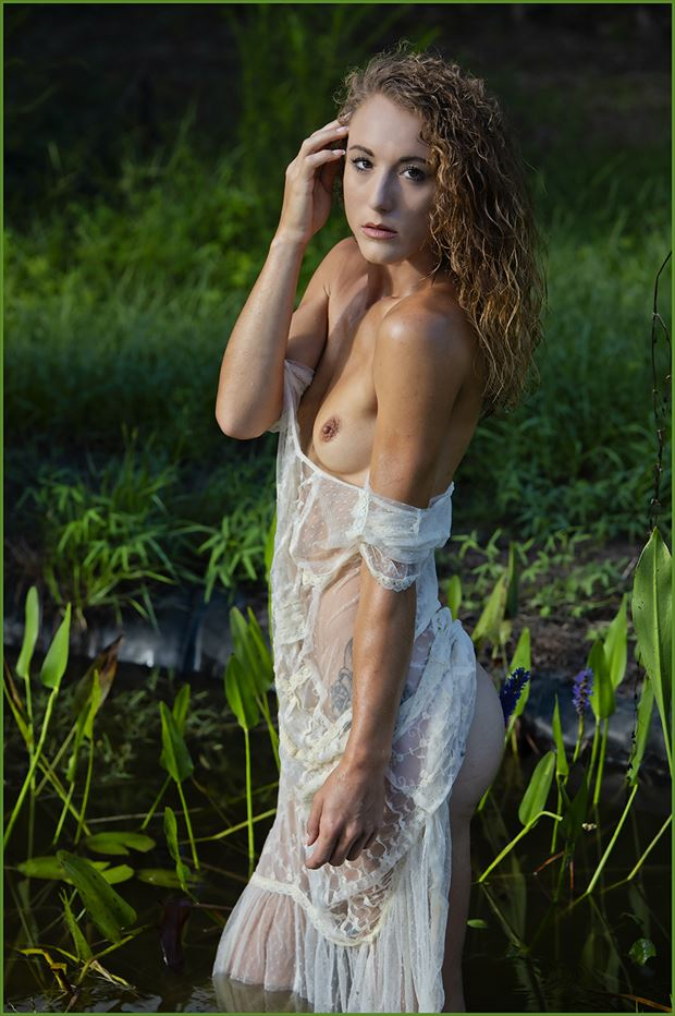 the pond artistic nude photo by photographer dpaphoto