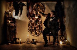the raven fantasy artwork by photographer michael knoten