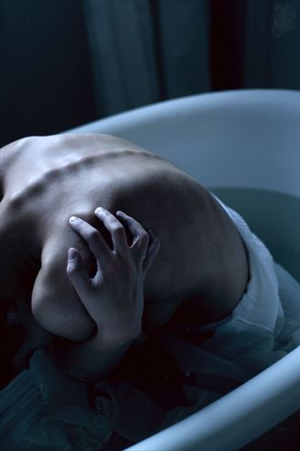 the room of drowned artistic nude photo by photographer natalie ina