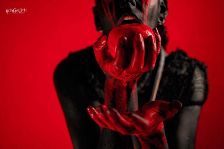 the serpent and the original sin fantasy photo by photographer ketten2006art