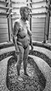 the shower artistic nude photo by photographer dvan