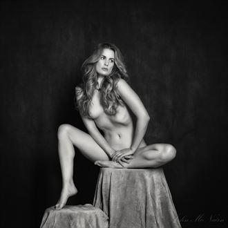 the silver dust affair artistic nude photo by photographer john mcnairn