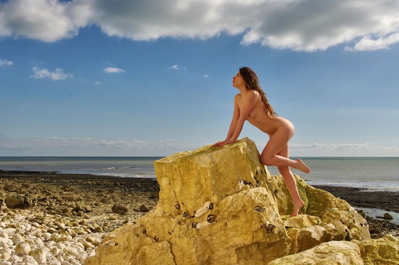 the siren artistic nude photo by photographer russb