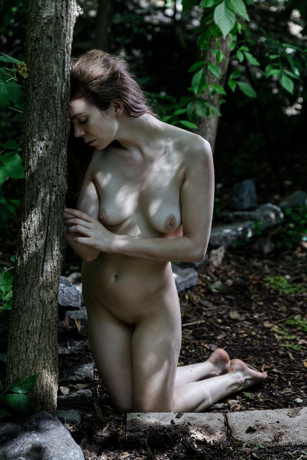 the soul of the forest artistic nude photo by photographer claude frenette