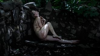 the soul of the forest in the castle 2 artistic nude photo by photographer claude frenette