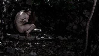 the soul of the forest in the castle 3 artistic nude photo by photographer claude frenette