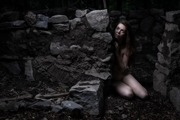 the soul of the forest in the castle 4 artistic nude photo by photographer claude frenette