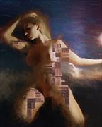 the spirit within the machine artistic nude artwork by artist todd f jerde