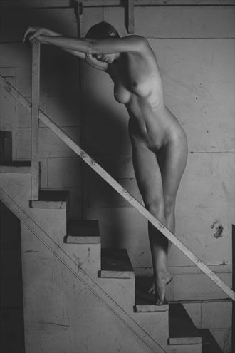 the stairs artistic nude photo by photographer josephbowman