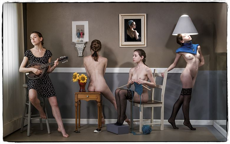 the stay at home epic artistic nude photo by photographer thomas sauerwein