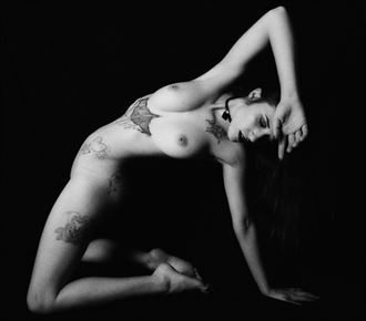 the strength artistic nude artwork by photographer daniel tirrell photo
