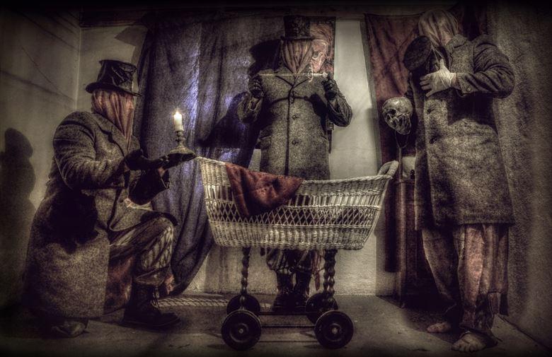 the three moirai abstract artwork by photographer michael knoten