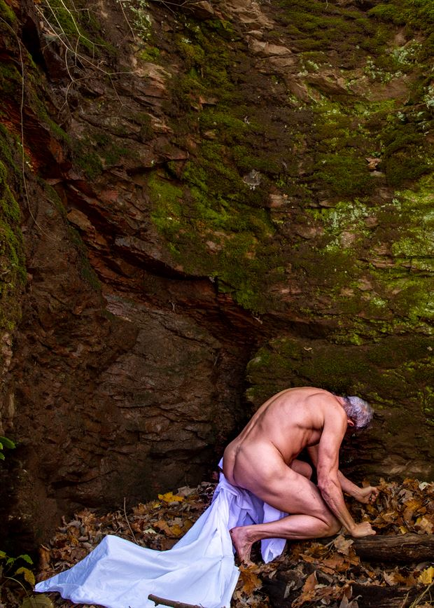 the tomb artistic nude photo by model artfitnessmodel